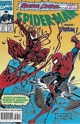 Spider-Man No.37 / 1993 Venom / Maximum Carnage 12 / David Micheline & Tom Lyle