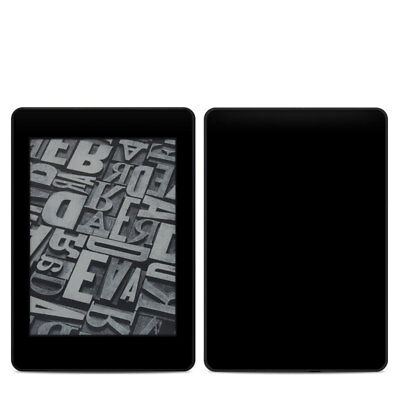 Kindle Paperwhite 2018 Skin - Solid Black - Sticker Decal