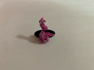 Pink Dinosaur with Bling Shoe-Doodle Rubber Shoes or Crocs Shoe Charm PSC1131