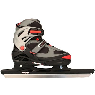 Nijdam Speed Skates Size 31-34 Racing Ice Skating Boots Shoes 3414-ZAR-31-34