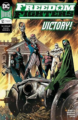 Freedom Fighters #1-2   Main & Variant   NM DC Comics 2018 2019