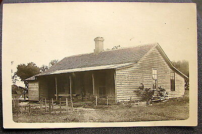Antique~~Real Photo Post Card---Un-Posted----Old Homestead