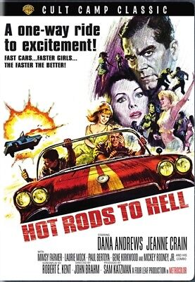 HOT RODS TO HELL New Sealed DVD