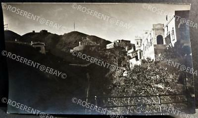 c1900s Hong Kong an unusual view up the Peak - High Level - Photo 14 by 8.5cm