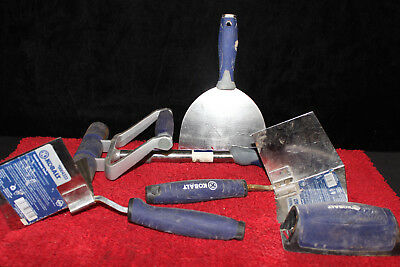 5 Kobalt Drywall Tools tools ~Rasp, straight, corners and roller~