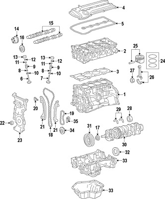 Genuine Nissan Front Cover Seal 13510-1KC1A