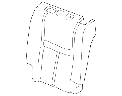 Genuine Nissan Seat Back Pad 88611-4CP1A
