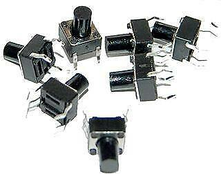OSEPP LS-00003 Mini Push Button Switch