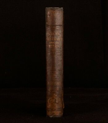 1846 South Australia and its Mines Francis Dutton Sketch of Colony First Ed Map