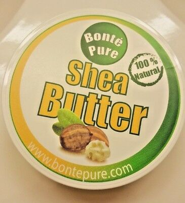 Bonté Pure Shea Butter 100g - Organic Unrefined Pure Natural Raw Grade A