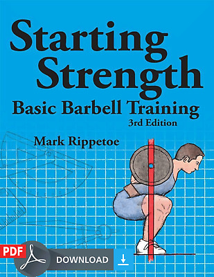 Starting Strength Basic Barbell Training 3 edition EB00K [PDF&EPUB]