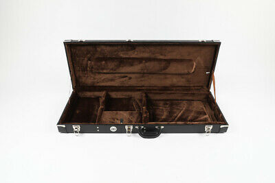 Eden Black Hard Shell Guitar Case for Strat & Tele