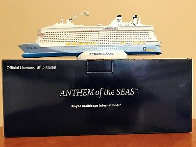 Royal Caribbean Anthem Of The Seas Cruise Ship Model - New In Box