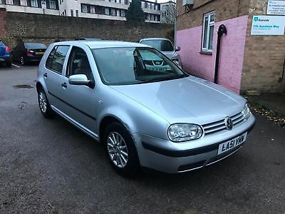 2002/51 Volkswagen Golf 1.6 SE AUTOMATIC LOW MILEAGE