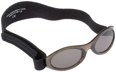 Baby Banz Sunglasses - INFANT - MIDNIGHT BLACK