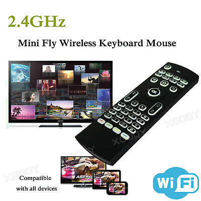 XGODY Mini Backlight Air Mouse Wireless Keyboard MX3 Remote Control For TV BOX