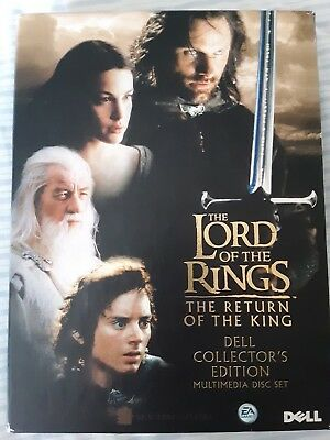 Lord of the Rings  DELL COLLECTOR'S EDITION MULTIMEDIA 4 DISC SET