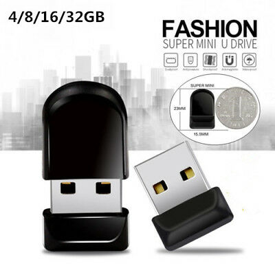 Super Mini USB Flash Drive Capacity Pen Drive USB 2.0 Memory Stick U Disk 4-32GB