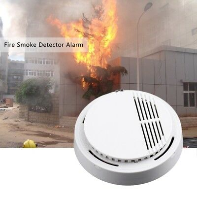 Smoke detector fire alarm Independent smoke alarm sensor home office Security