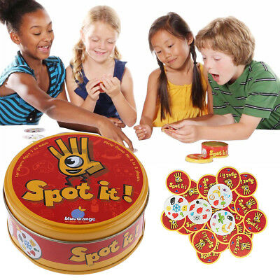 Spot it Kids Game High Quality Paper Dobble it for Family Game Cards Game UK