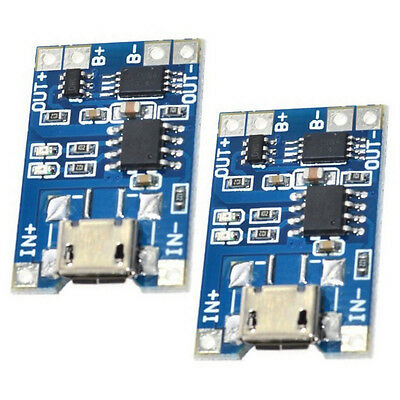 10* 1A 5V TP4056 Lithium Battery Charging Module USB Board Electronic-Component
