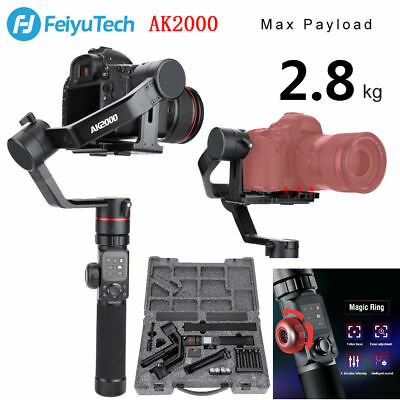 Feiyu AK2000 3axis WiFi Camera Gimbal Stabilizer 360°Anti-shake With Touch Panel