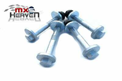 Mazda MX5 MK1 & MK2 Alignment Camber Bolts, Plates & Nuts - Set of 4 (Brand New)