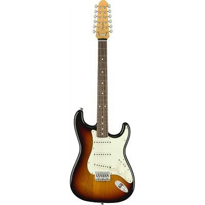 Fender Special Run Traditional Stratocaster Electric Guitar XII, 3 Tone Sunburst