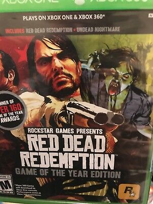 Red Dead Redemption Xbox 360 New Xbox 360 Game Of The Year One