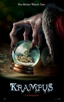 Krampus - original DS movie poster - 27x40 D/S Advance HORROR