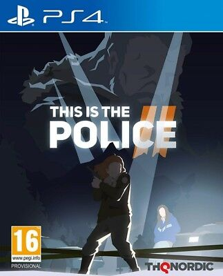 This Is The Police II 2 PS4 * NEW SEALED PAL *