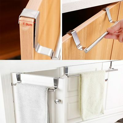 Bathroom Door Kitchen Towel Over Holder Drawer Hook Storage Scarf Hanger Sale