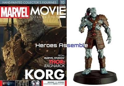 Marvel Movie Collection Special #9 Korg Figurine Eaglemoss Thor Ragnarok Movie