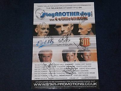 East 17 911 Signed Poster