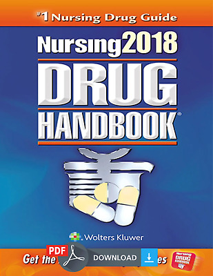 Nursing 2018 Drug Handbook-LWW (2018) by Lippincott [PDF] Fast Delivery EB00K