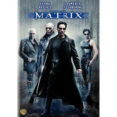 The Matrix [DVD] (1999), Good DVD, Keanu Reeves, Carrie-anne Moss, Laurence Fish