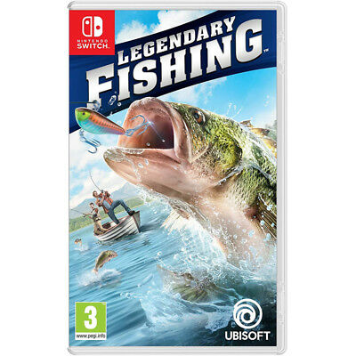 Legendary Fishing Video Game For Nintendo Switch Console Brand New Sealed UK