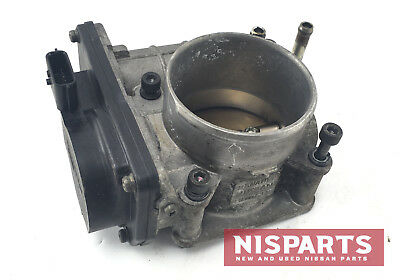 2008 Nissan 350Z HR Throttle Body Left Passenger Side B346