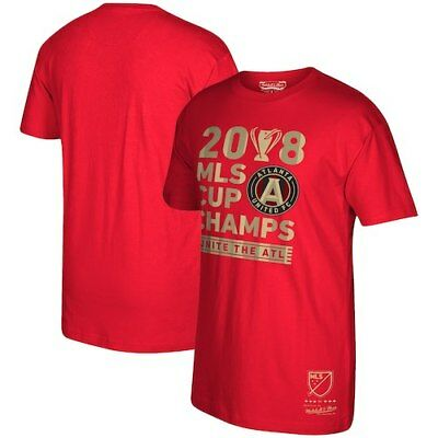 a4e1881d Atlanta United FC Mitchell & Ness 2018 MLS Cup Champions T-Shirt - Red