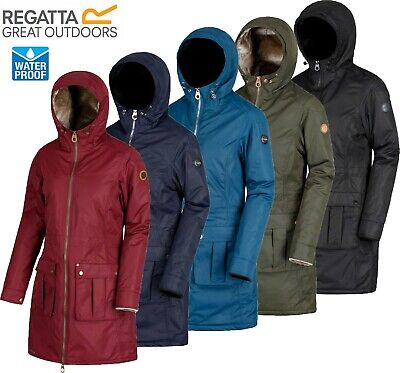 Regatta Ladies ROMINA Insulated Waterproof Breathable Jacket Coat Womens