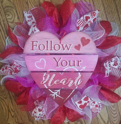 Made To Order Medium Everyday Ruffle Deco Mesh Wreath Pick Your