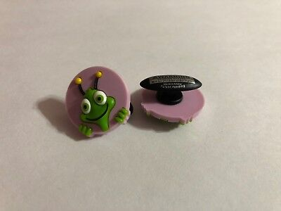 Get 2 Same Charms - Green Bug in Circle Shoe-Doodle Shoe Charm for Crocs CRT010