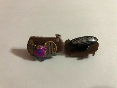Blue and Purple Bugs Shoe-Doodle Blue and Purple Bug Shoe Charm for Crocs CRT029
