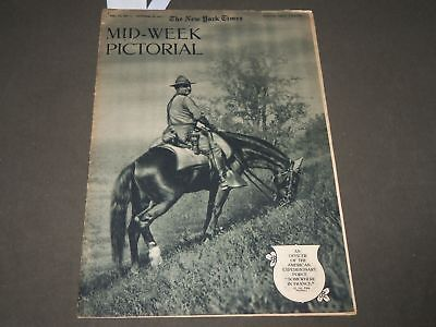 1917 Oct 18 Ny Times Mid-Week Pictorial Magazine - World War I - Wwi - Np 2932