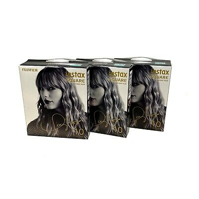 Fujifilm Instax Square Taylor Swift Instant Film 3 Pack (30 Sheets) *NEW*