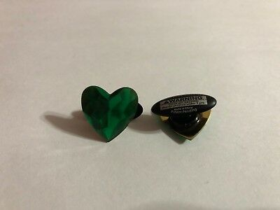 May Green Heart Shoe-Doodle Green Shoe Charm for Crocs Shoe Charms PSC524