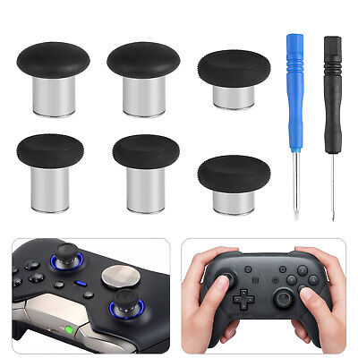 6pcs Replacement Swap Thumbstick Analog Stick for Xbox One Elite Controller