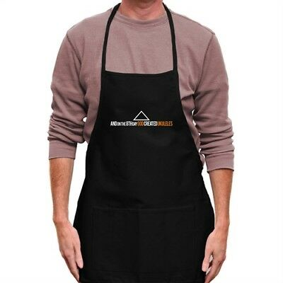 GOD CREATED Ukuleles Apron