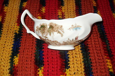 Vintage THE OLD MILL Gravey bowl  Made in England JOHNSON BROS     free s/h CAN