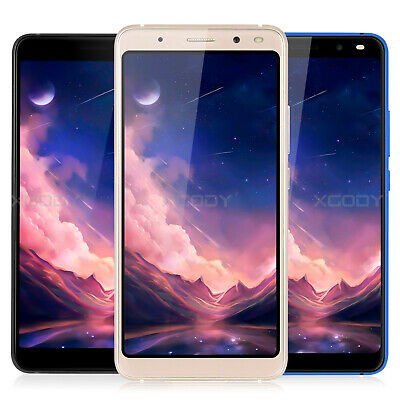 6 Inch Unlocked Cell Phones Android 7.0 Quad Core Dual SIM 3G 5MP Smartphone